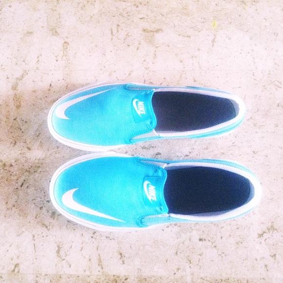 New Blue Nike Slip On Toki | Poshmark