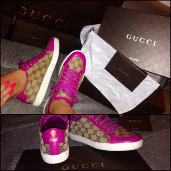 shoes rose gucci sneaker pink sneakers gucci
