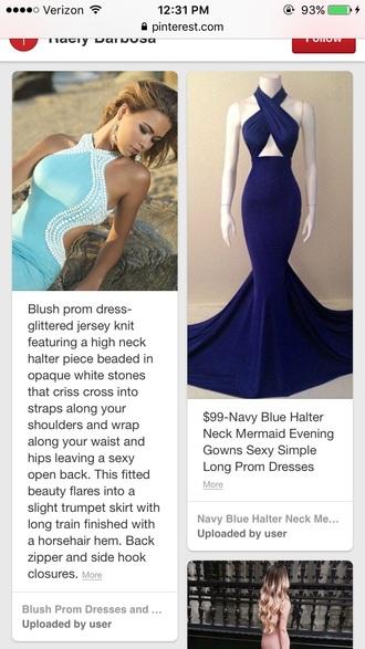 dress prom dress prom sexy sexy dress blue cute dress cute