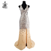 dress,long evening dress,long prom dress,sexy dress,prom dress,beaded dress,2016 new arrival prom dress