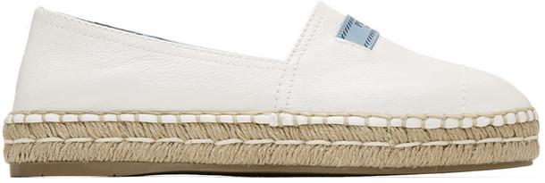 Prada espadrilles white shoes