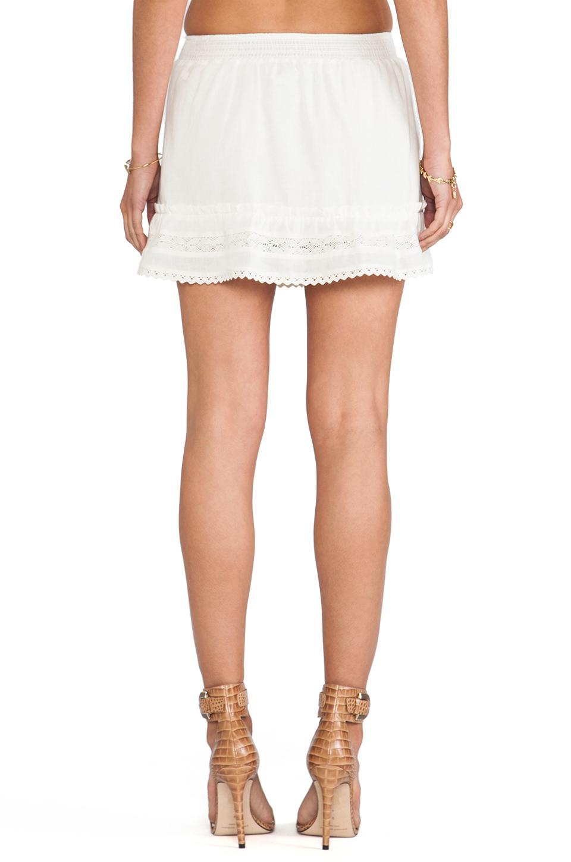 ANINE BING Bohemian Skirt in Ivory | REVOLVE
