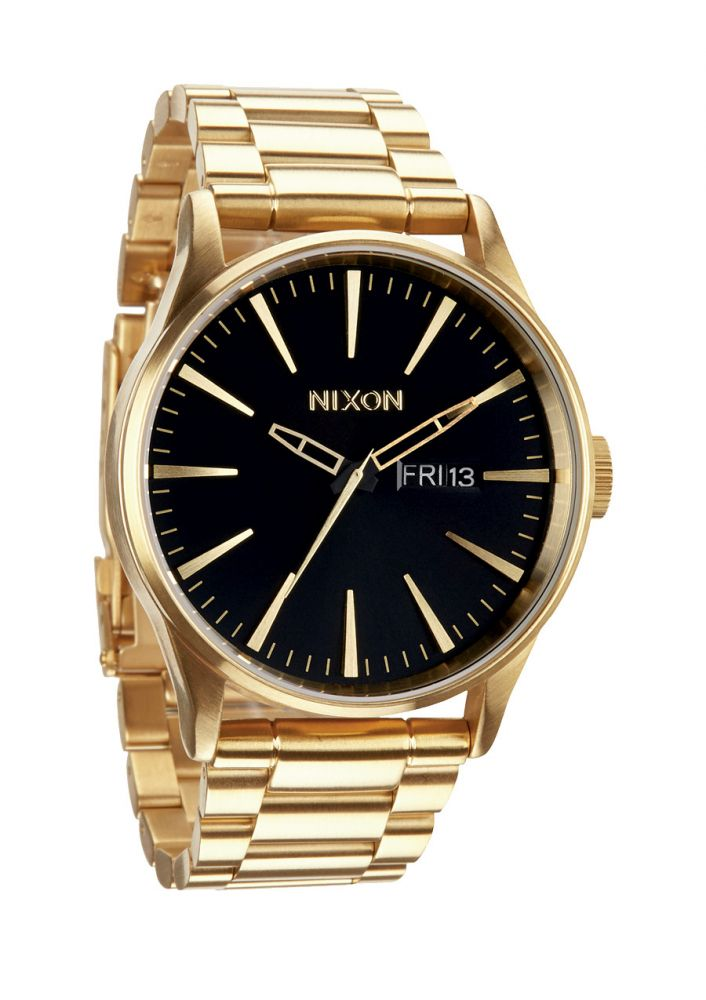 Montre Nixon Sentry SS All Gold Black