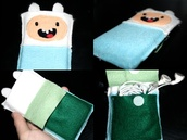 bag,adventure time,phone,cute,at,cartoon,iphone cover,iphone case