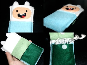 bag adventure time phone cute at cartoon iphone cover iphone case
