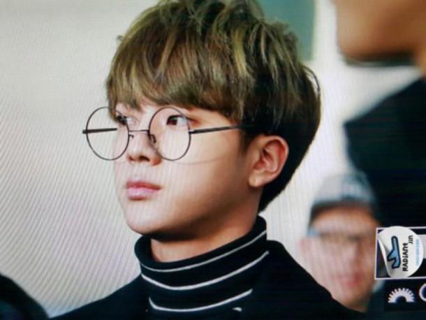 Kpop Glasses Frame : Sunglasses: bts, bangtan boys, k-pop, kpop, glasses, nerd ...