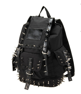 Spikes Leather Backpack - Shop for Spikes Leather Backpack on ...
