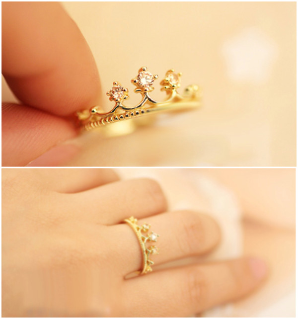 Jewels rings and tings gold ring princess jewelry Whereto