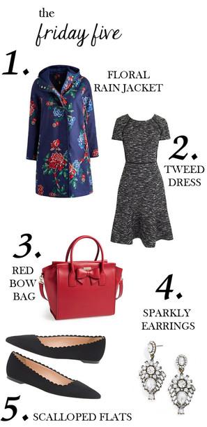 m loves m blogger jacket bag jewels