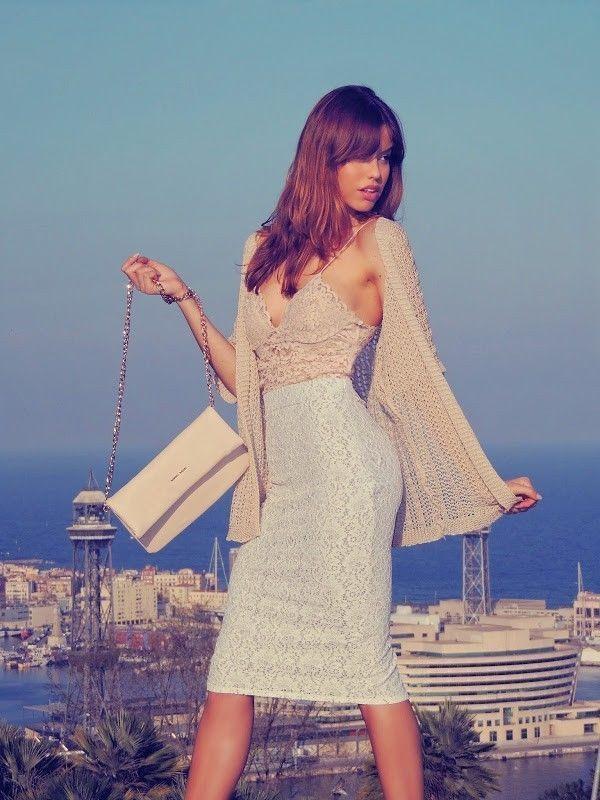 5235329d49 Zara New 2014 Studio Guipure Lace Crop Camisole Top Bralet ...