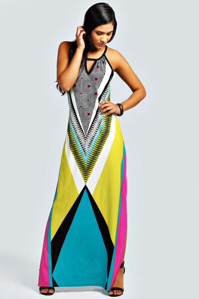 Summer multicolor dresses