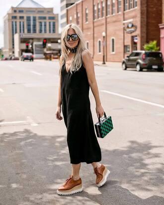jumpsuit tumblr black jumpsuit cropped jumpsuit shorts flatforms platform shoes bag boxed bag sunglasses shoes