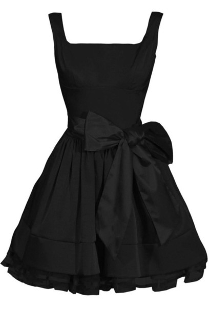 dress black dress little black dress bow dress cocktail dresses black bow dress circle dress circle skirt style