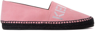 espadrilles suede pink shoes