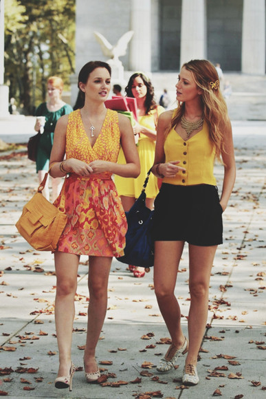 dress gossip girl blair waldorf autumn