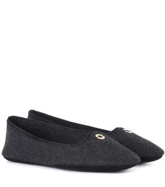 Loro Piana grey shoes