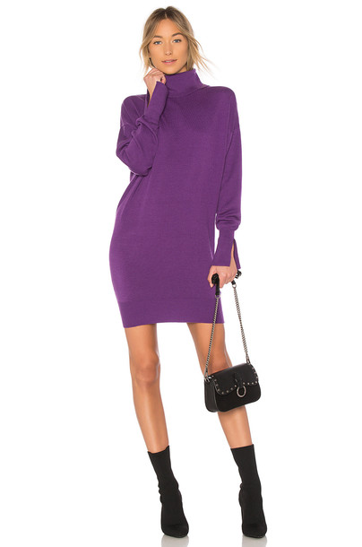 MAJORELLE dress purple