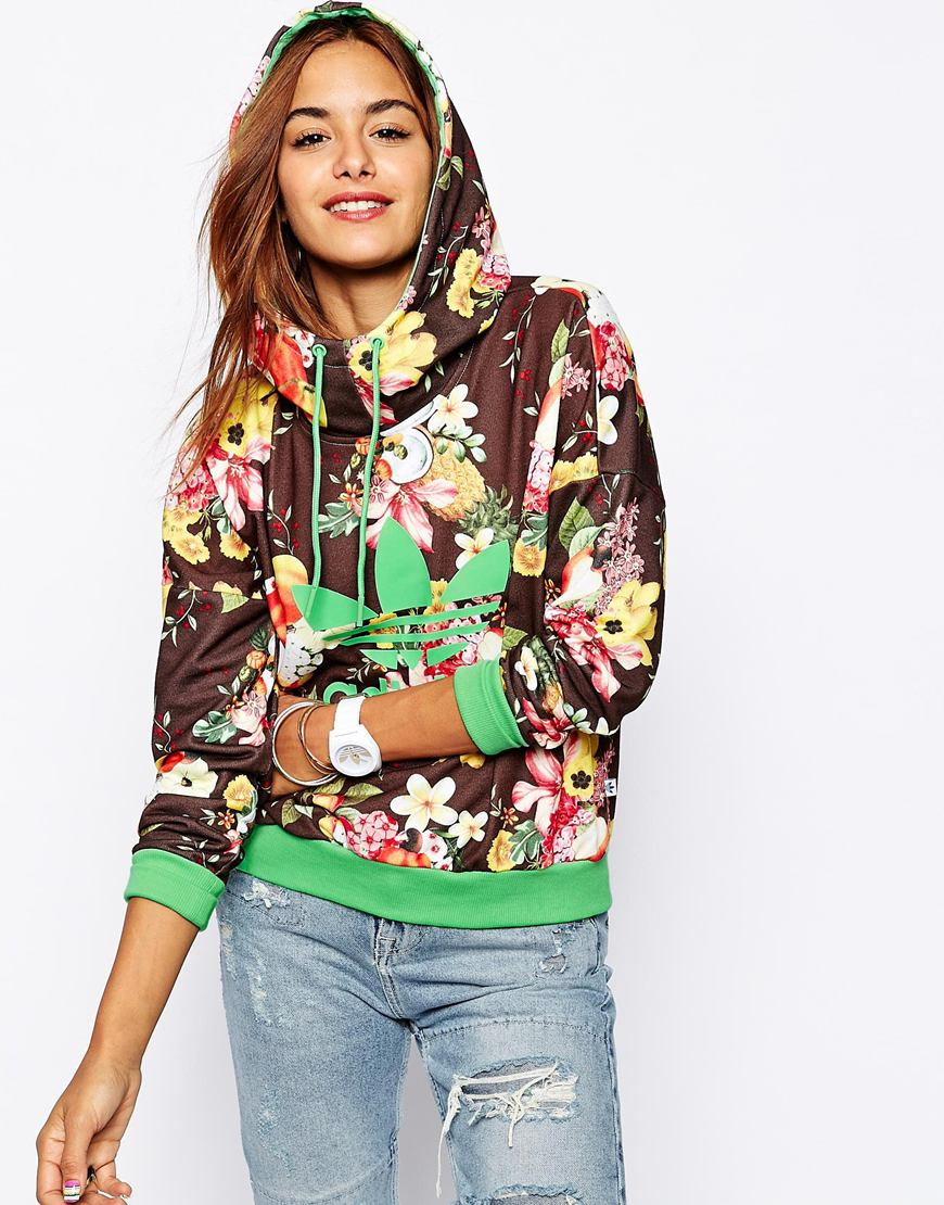Adidas originals x farm fruit bowl hoodie at asos.com