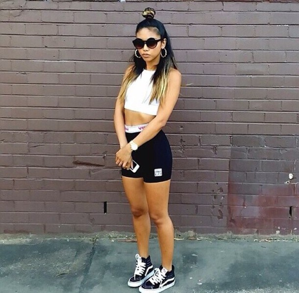 vans clothes for girls. shoes vans tumblr girl clothes jeans ripped skateboard skater crop tops aztec tribal for girls