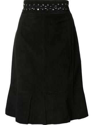 skirt studded black