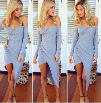 dress gray gray dresses