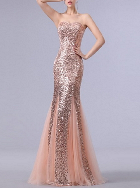 Mermaid Sweetheart Evening Dresses - Juicy Wardrobe