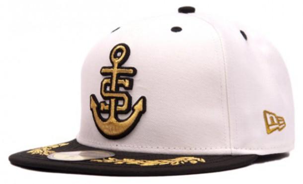 hat new era staples s-anchor anchor snapback new era hat cap 2010 navy new era white