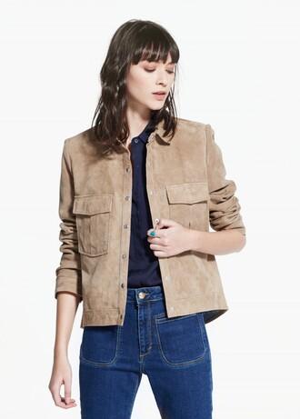 the fashion eaters blogger jacket suede jacket