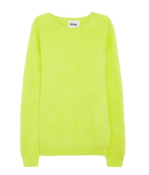 sweater acne studios yellow