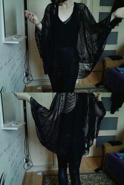 blouse black blouse gothic dress
