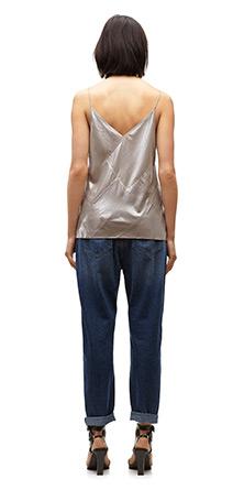 Foil Patchwork Vest