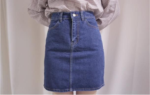 skirt denim denim skirt pencil skirt blue