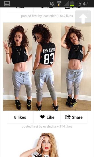 pants tank top shirt india westbrooks leggings crop tops fashion black crop top dope shirt top shoes jewels