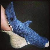 socks,shark,sharksocks,blood,ocean,knit,cozy,holiday gift