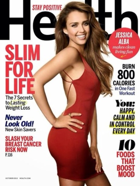 dress jessica alba red short dress