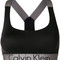 Calvin klein - lightly lined bralette - women - polyamide/spandex/elastane - m, black, polyamide/spandex/elastane