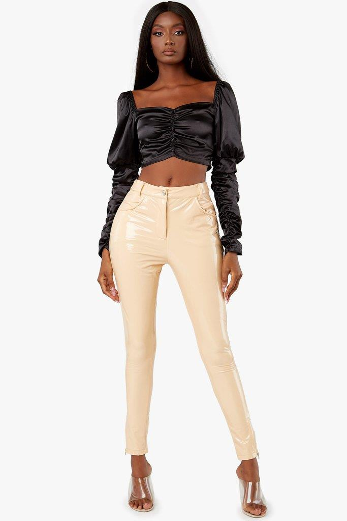Wicked Games Patent Pants