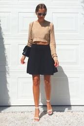 skirt,black,black leather skirt,summer dress,high waisted,high waisted skirt,summer outfits,little black dress,top,bag,shoes