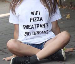 Wifi big dreams t shirt