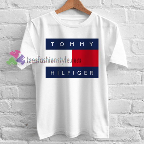 tommy hilfiger logo tshirt shirt tees adult unisex custom. Black Bedroom Furniture Sets. Home Design Ideas