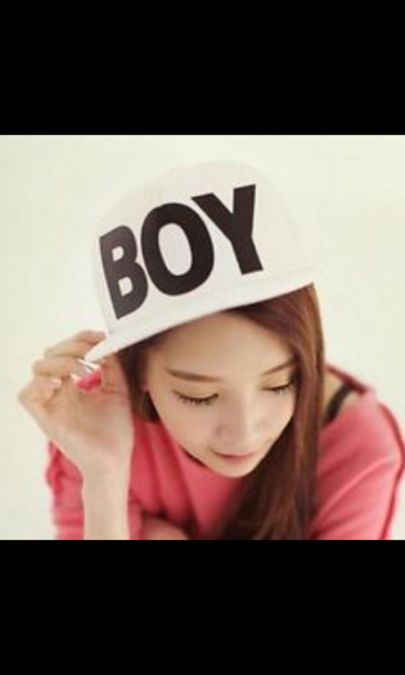 Hat cap boy cute kpop korean style white swag swag hat cap boy cute kpop korean style white swag swag voltagebd Gallery