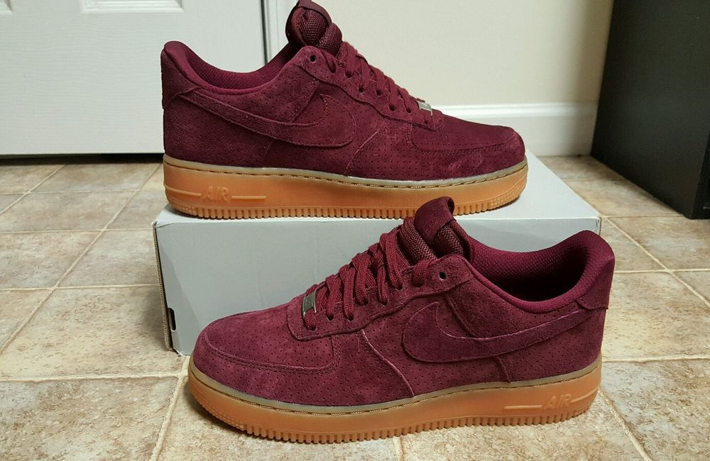 Nike Air Force 1 Navy Gum Suede | C.S.A.L.
