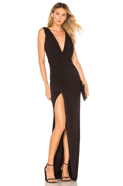 Katie May x Grace Penny Sue Gown in black