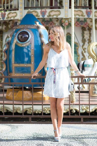 mi aventura con la moda blogger dress jewels shoes bag