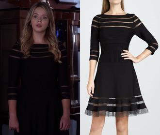 hanna marin pretty little liars little black dress