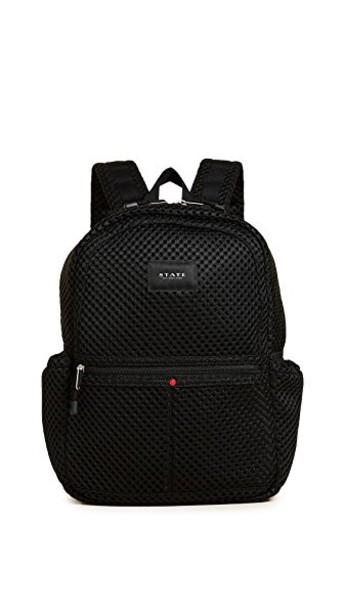 STATE mini mesh backpack black bag