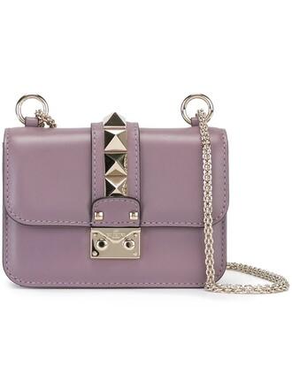 mini bag shoulder bag purple pink
