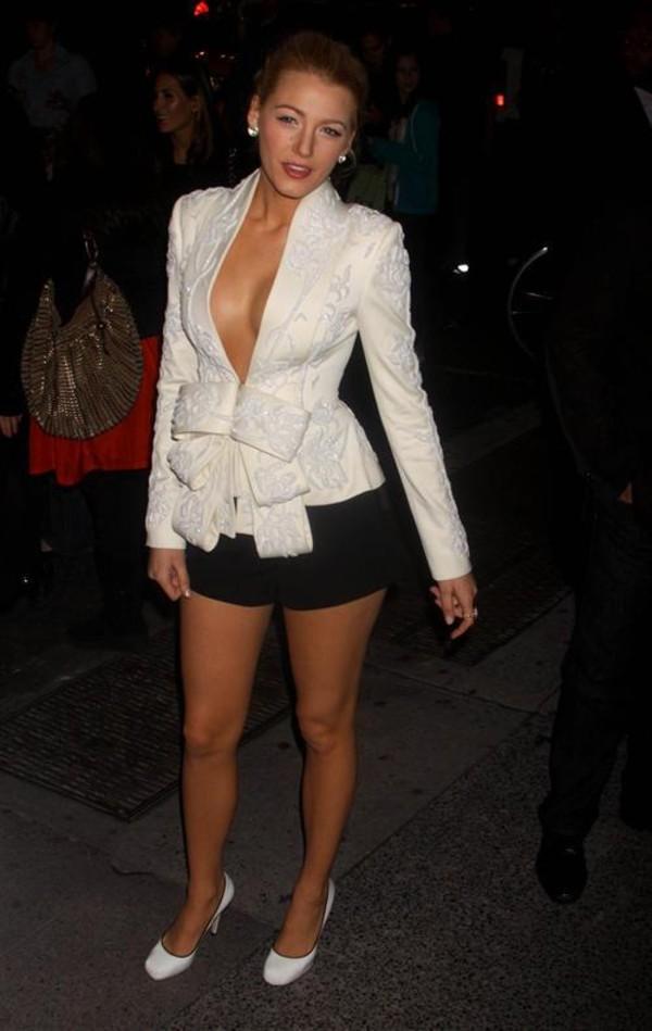 blake lively white jacket serena jacket