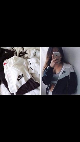 jacket nike grey sportswear