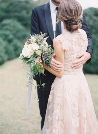 dress wedding dress lace dress white ivory dress a line wedding gowns hipster wedding